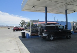 A stop at the expensive gas station at Fenner, California, on I-40 is in order