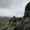 I hike around more rock outcrops on the way to Club Peak