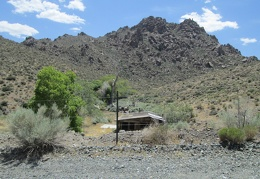 Also at Tecopa Pass is an old cabin awaiting restoration