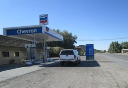 The other important stop at Shoshone is the super-expensive gas station across the street from the restaurant