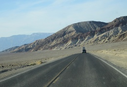"The drive from Badwater to Furnace Creek in ""Downtown Death Valley"" is scenic"