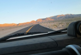 I find myself driving up Wildrose Road into the Panamint Mountains