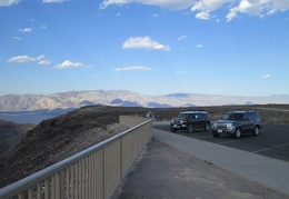 Next, I arrive at the Father Crowley Vista Point after driving several winding miles up Hwy 190 out of Panamint Valley