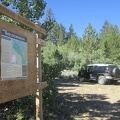 After breakfast and coffee, we park at the entrance to Hoover Wilderness and begin our hike up Burt Canyon