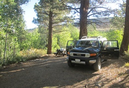 Well, it's time to pack up our nice little campsite at Obsidian Campground