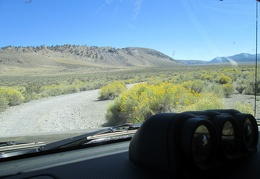 Back in the FJ, we drive the 2.5 miles over to the Mono Lake Tufa Reserve area