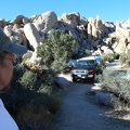 I wake up and find myself in Mojave National Preserve amongst big rocks