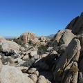 I love this campsite, nestled in the boulders