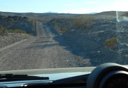After Owl Hole Spring, I drive Owlshead Mountains Road, further out into the wild
