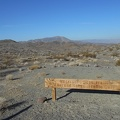 I park next to a sign that indicates the trail over to Crystal Hills, today's hike