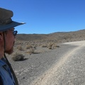 This dry lake has fresh burro trails leading to it like the one I visited earlier