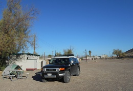 I camped at the Tecopa Hot Springs campground last night
