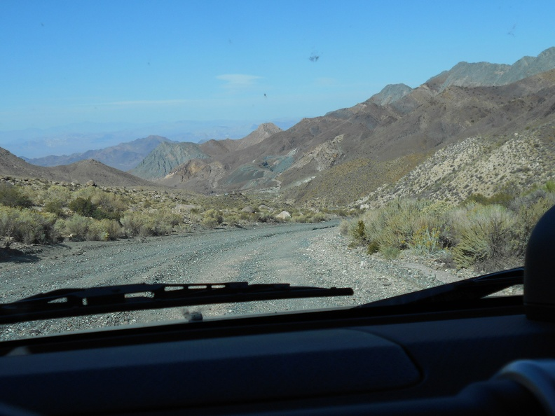 I don't tire of the scenic ride down Smith-Talc Road toward Tecopa through the Kingston Range