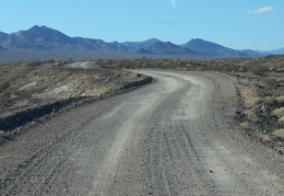Furnace Creek Valley Road is the slower way over to Death Valley from Tecopa