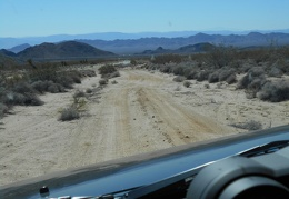 I'm getting close to Kelbaker Road, I-40 and the Clipper Mountains, time to look for another dirt road