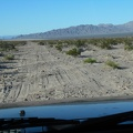 Broadwell Dry Lake gets closer, the road rougher