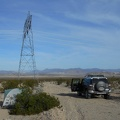 Good morning! I've camped near transmission towers many times, a Mojave tradition
