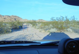 After my tasty meal and a gas fill-up, I drive to a memorable spot in Mojave Preserve