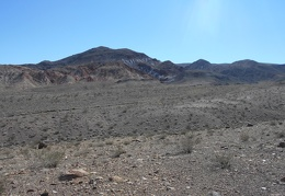 Somewhere around here I exit Death Valley National Park and enter BLM lands