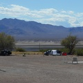 I see people camping at Tecopa Hot Springs, as I've done numerous times in the past