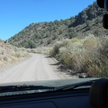 After a drive down Hwy 395, I head up Aurora Canyon Rd into the Bodie Hills