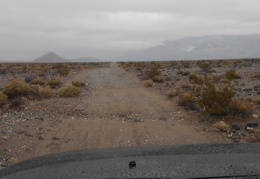 I'll drive a couple miles up Panamint Dunes Rd, maybe I'll hike here tomorrow