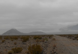 Lake Hill, that small pointy hill, stands out in this part of Panamint Valley