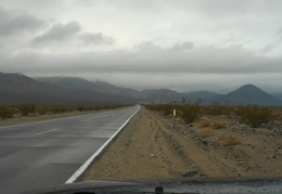 I'll drive up to Panamint Springs for a campsite where it might be a bit less windy
