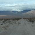 Driving further up the road, I see the Panamint Dunes off at my distant left