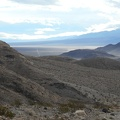 In the lower canyon I can see Panamint Dunes Rd heading straight down the valley