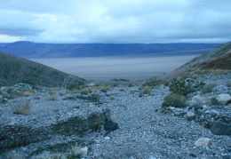 And back down to Panamint Valley...