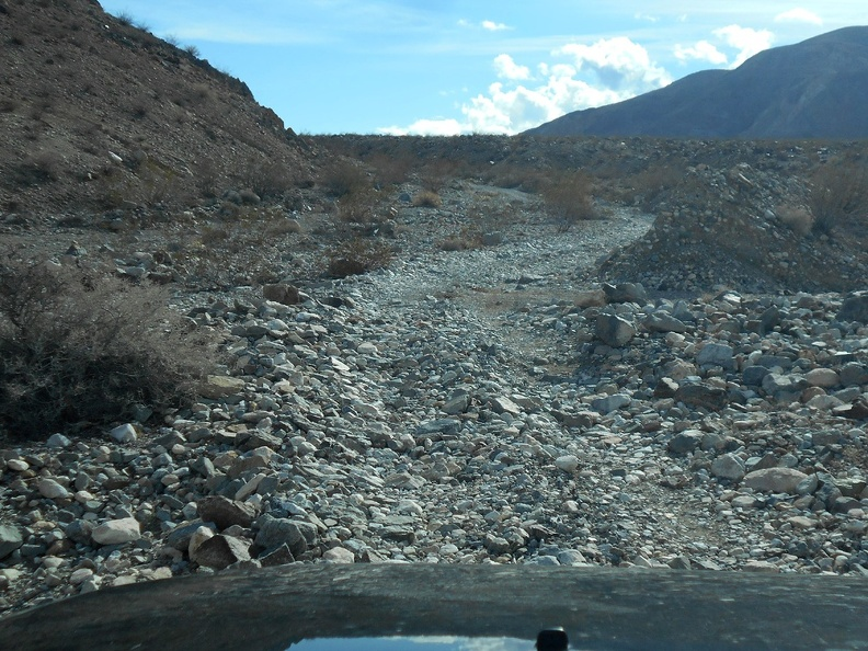 After a while, all these smaller rocks on Nadeau Trail feel like easy driving