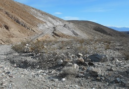 I pass an early version of Lower Stone Canyon Rd that is now too washed out to drive