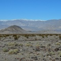 The Panamint Dunes are hiding behind Lake Hill jutting up from the valley floor