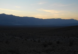 I decide to go for a sunset walk and watch Saline Valley fade into the dark