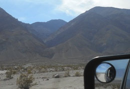 I peer at yet another canyon in the Inyo Mountains as I drive by