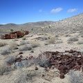 An old can dump is a necessity at any historical desert site