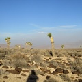 Behind me, the Panamint Valley dust storm seems to be dissipating