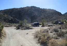 We arrive back at the FJ and revel in what a great hike this has been