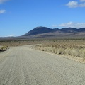 Anthony and I part ways and I drive up Saline Valley Road