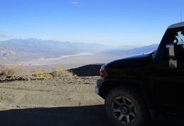 I stop at the top of South Pass to take in the views of Panamint Valley