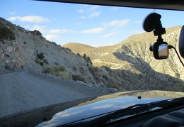 Arriving South Pass, Saline Valley Road