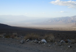 Saline Valley, there it is—keep on driving