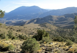 I've really enjoyed this panorama over to Waucoba Mountain during this hike