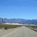 The road is getting more washboarded as I approach Eureka Dunes