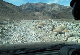 Our road into Stone Canyon is paved with small rocks