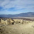 Ash Hill rises lethargically out of Panamint Valley behind the cabin ruins