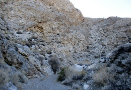 This part of Osborne Canyon is flat and gravelly