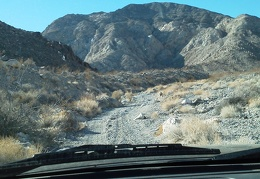 The slow and scenic drive up into Osborne Canyon continues