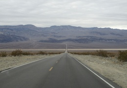 After breakfast, I drive down into Panamint Valley on Highway 190